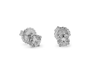 Alson Signature Collection 14K White Gold 2.20ctw Diamond Stud Earrings