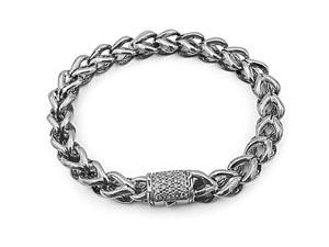 Alson Special Value John Hardy Silver 7MM Asli Classic Chain Diamond Bracelet