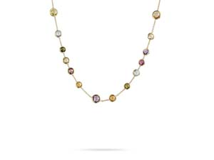 Marco Bicego 18K Yellow Gold Jaipur Necklace, Measuring 17