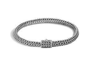 John Hardy Silver Classic Chain Extra Small Bracelet