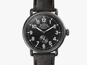 Shinola Runwell Sandblacst PVD Gunmetal 41MM Watch