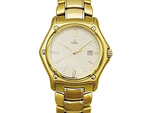 Alson Pre-Owned Ebel 1911 35MM 18K Yellow Gold Watch