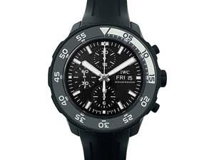 Alson Pre-Owned IWC Aquatimer Chronograph Galapagos Islands 44MM Steel Watch