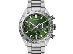 Tag Heuer Carrera Chronograph 44MM Steel Watch
