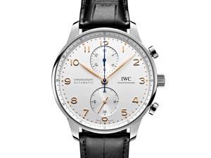 IWC Portugieser Chronograph 41MM Steel Watch