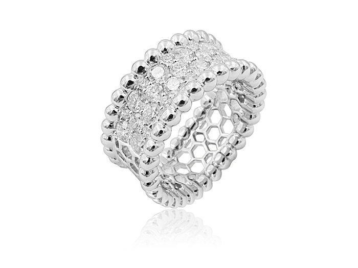 Alson Signature Collection 18K White Gold 1.60ctw Diamond Band