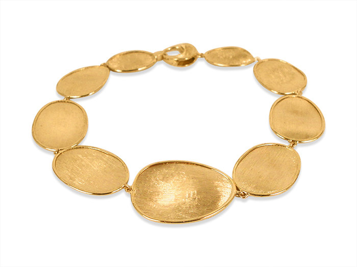 Marco Bicego Lunaria Bracelet, Fashioned in 18K YG and Measuring 7.25