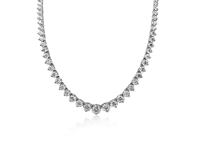 Alson Signature Collection 14K White Gold 17