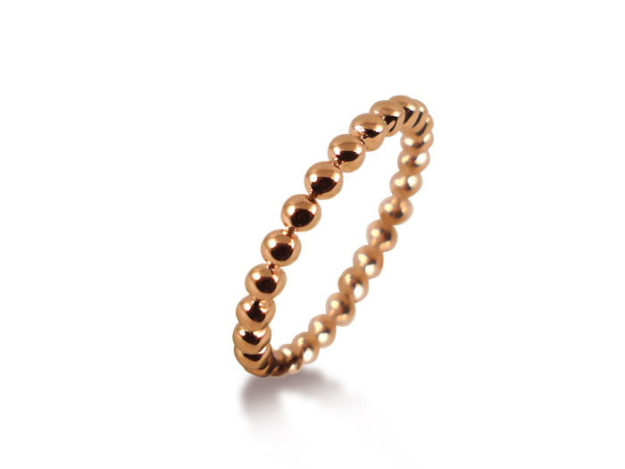 ArtCarved Stackable Band, Fashioned in 14K Rose Gold