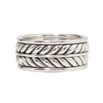 finding the right wedding band for your guy - David Yurman Mens Wedding Rings
