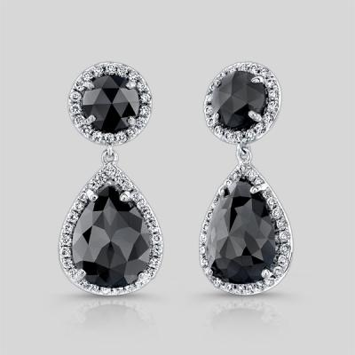 Black Diaond earrings