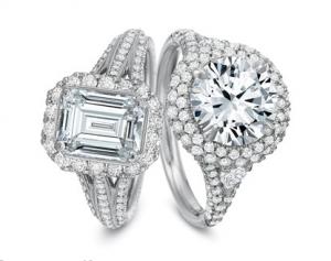 Precision Set Engagement Rings