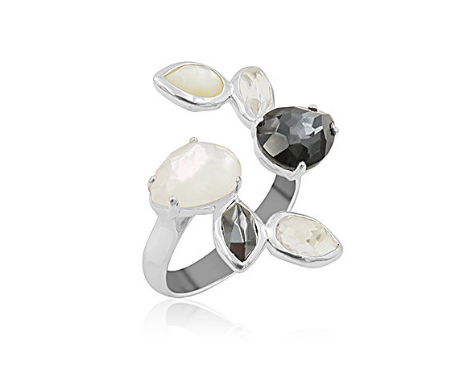 Ippolita Silver Rock Candy Piazza Open Ring
