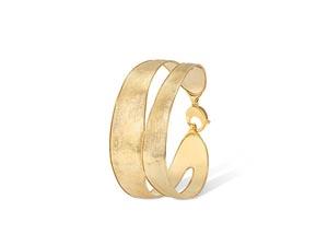 Marco Bicego 18K Yellow Gold Lunaria Medium Split Bangle Bracelet