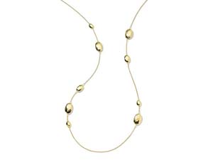 """Ippolita 18K Yellow Gold 36"""" Classico Oval Station Necklace"""