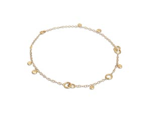 """Marco Bicego 18K Yellow Gold 18"""" Jaipur Charm Necklace"""