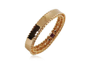 Roberto Coin 18K Rose Gold Symphony Princess Band