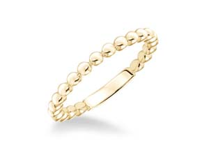 ArtCarved 14K Yellow Gold Band