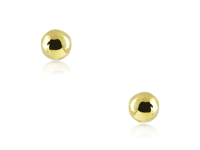 Ippolita Classico 18K Yellow Gold Ball Stud Earrings
